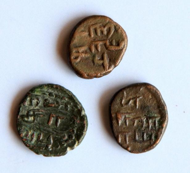 arcot nawab tamil coins